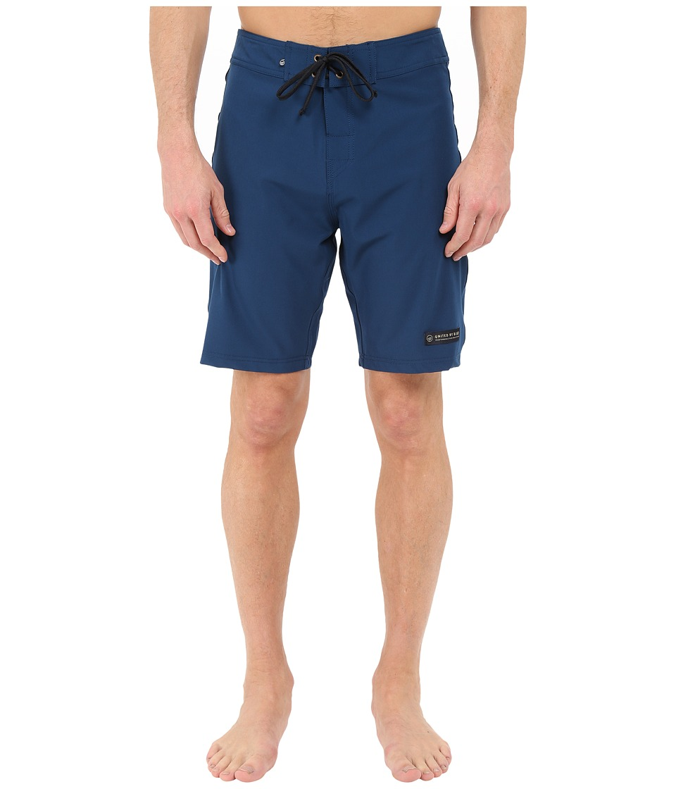 United By Blue Classic Boardshorts Blue Mens Swimwear