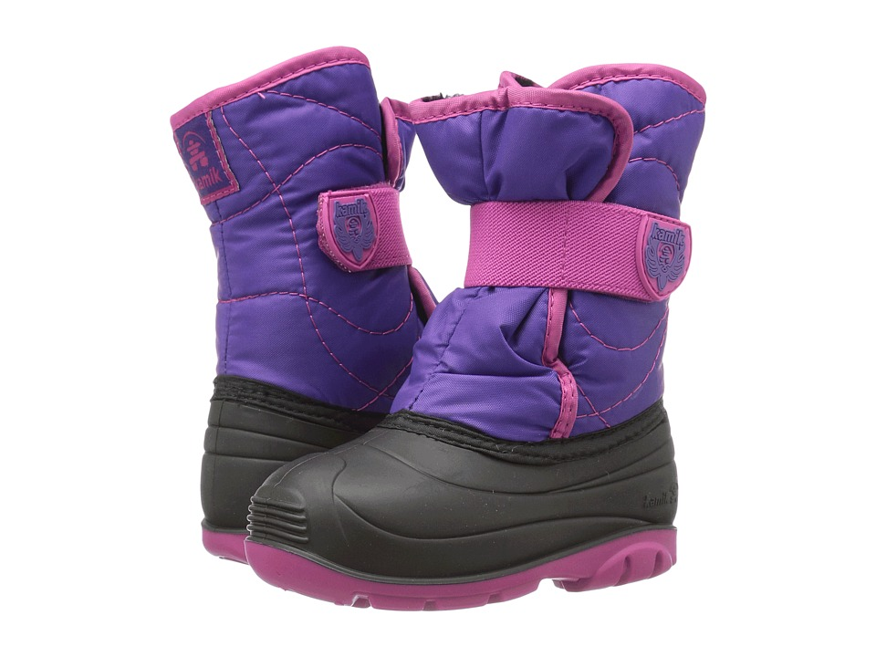 Kamik Kids Snowbug 3 (Toddler) (Purple/Magenta) Girls Shoes