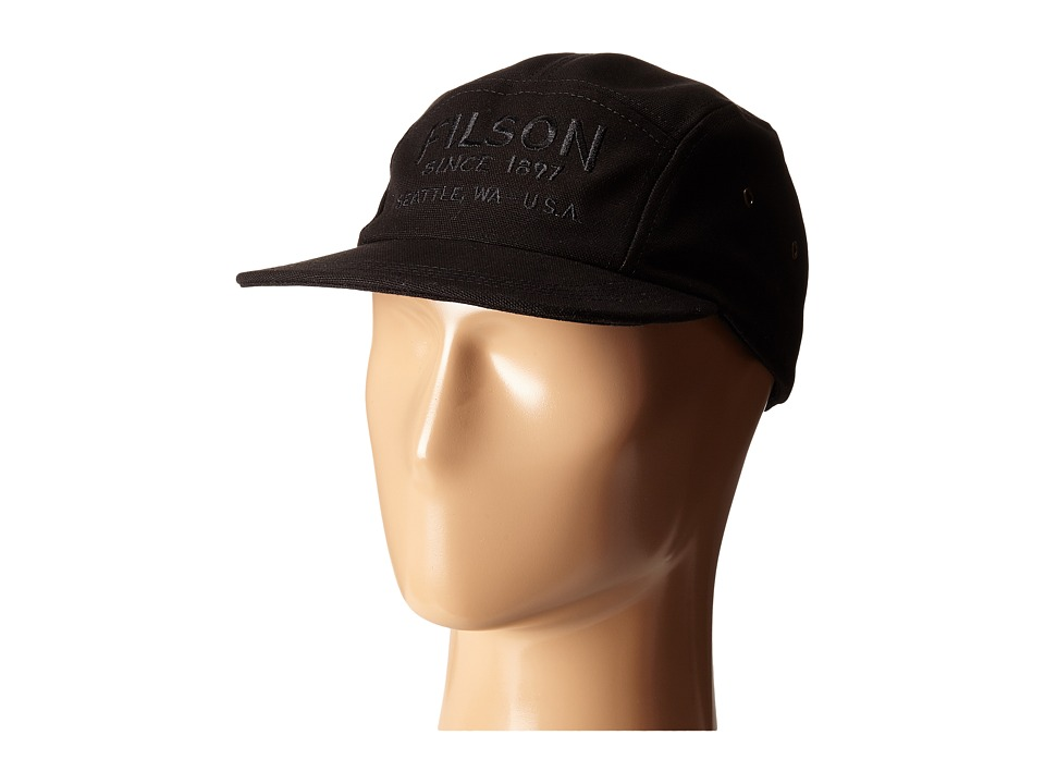 Filson 5 Panel Cap Black Caps