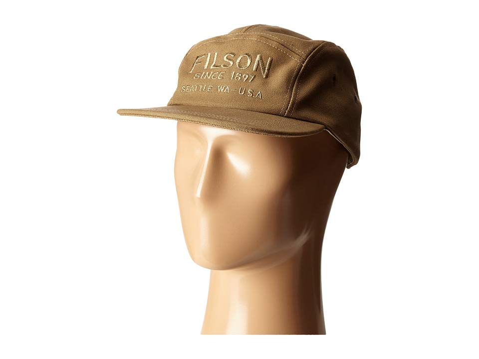 Filson 5 Panel Cap Rugged Tan Caps