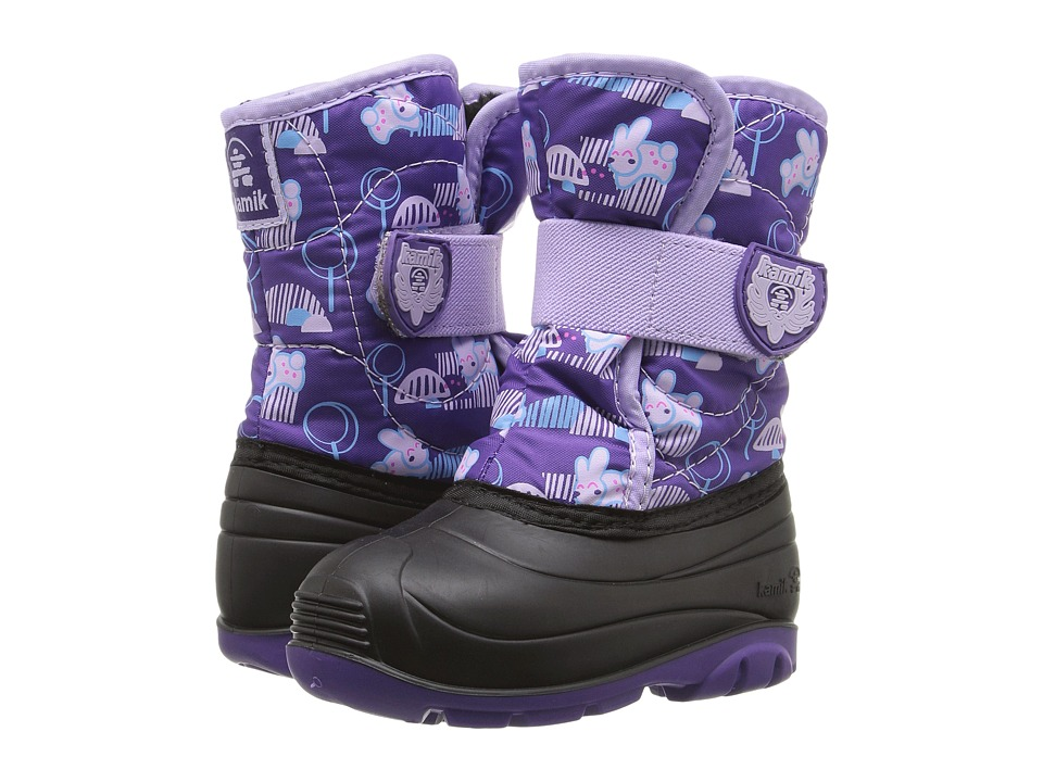 Kamik Kids Snowbug 4 (Toddler) (Purple/Lilac) Girls Shoes