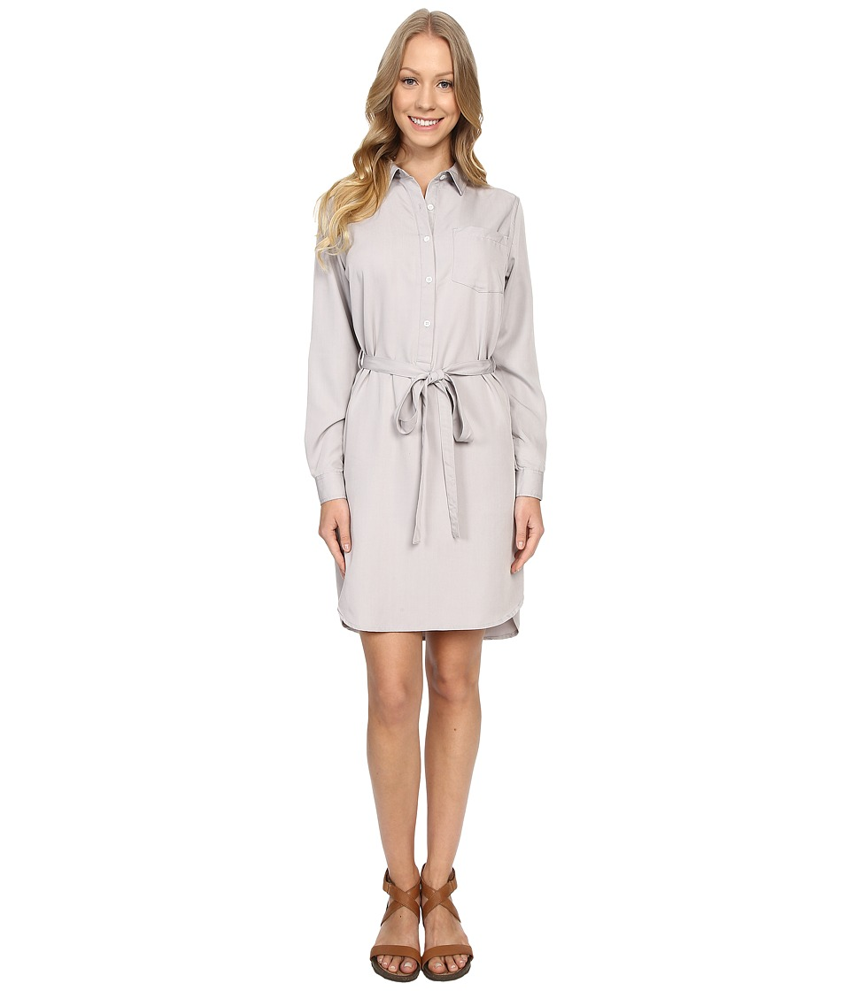 United By Blue Banbury Tencel Dress Grey Womens Dress