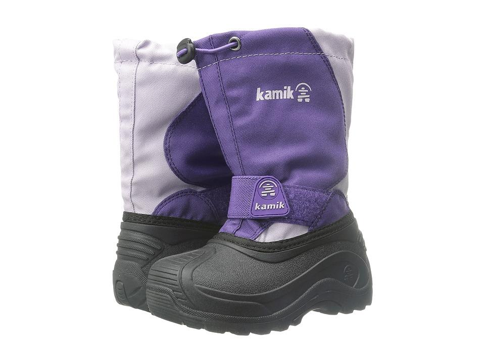 Kamik Kids Snowfox (Toddler/Little Kid/Big Kid) (Purple/Violet) Girls Shoes