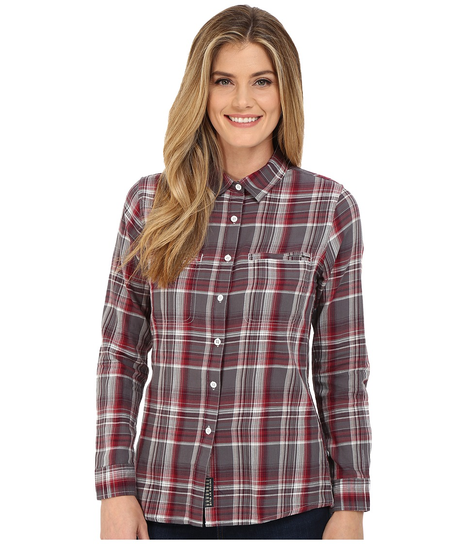 United By Blue Ash Plaid Shirt Red/Grey Womens Clothing