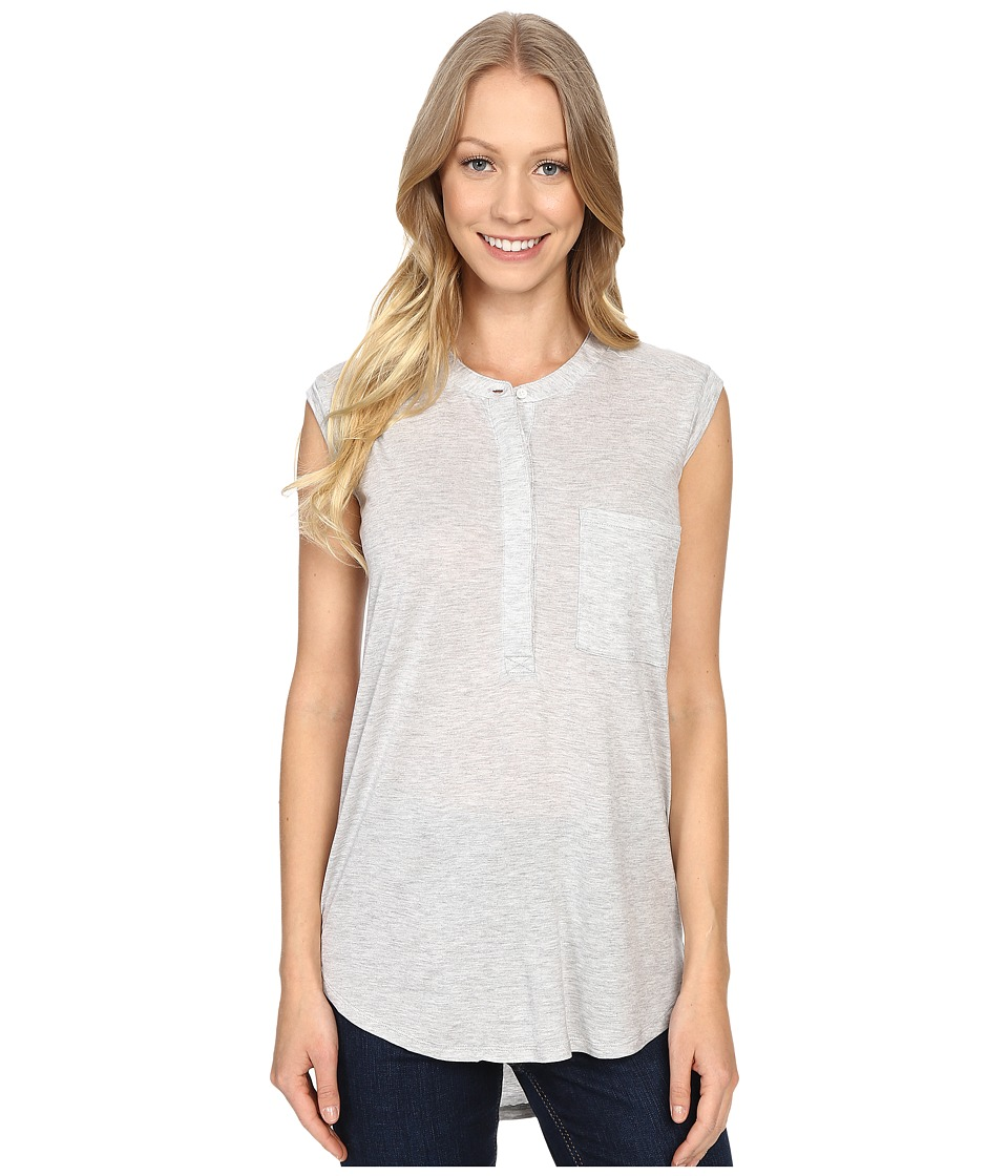 United By Blue Avalon Tank Top Grey Womens Sleeveless
