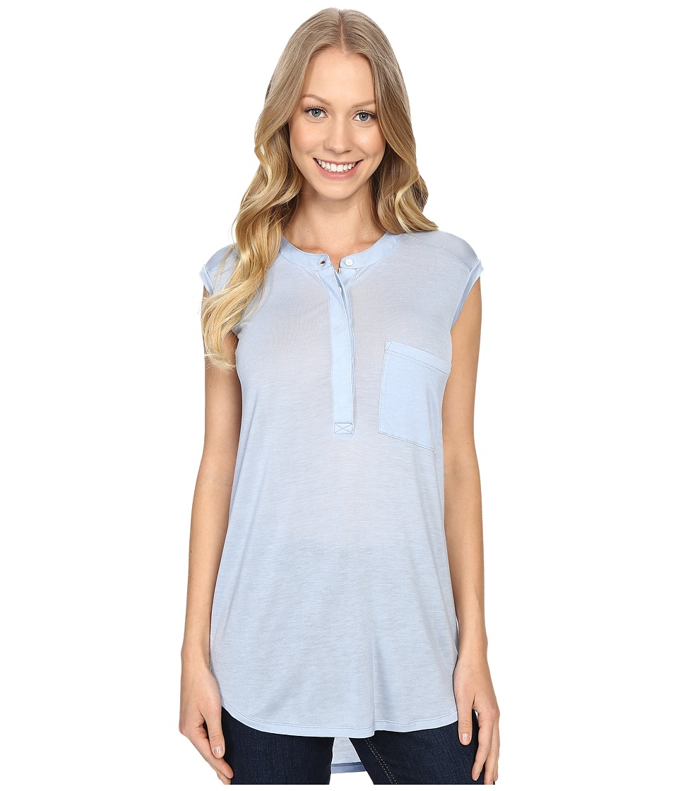 United By Blue Avalon Tank Top Blue Womens Sleeveless
