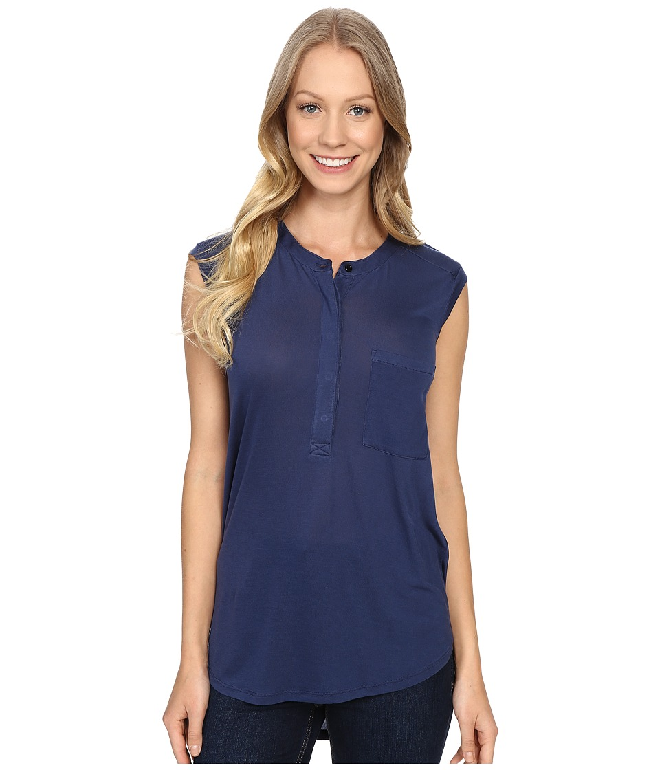 United By Blue Avalon Tank Top Navy Womens Sleeveless