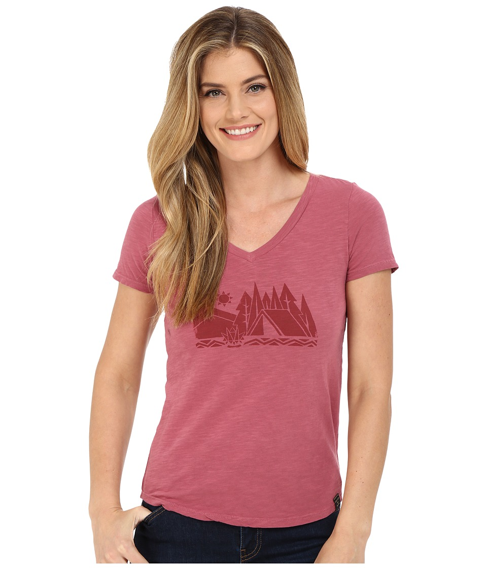 United By Blue Camp Geo Mauvewood Womens Clothing