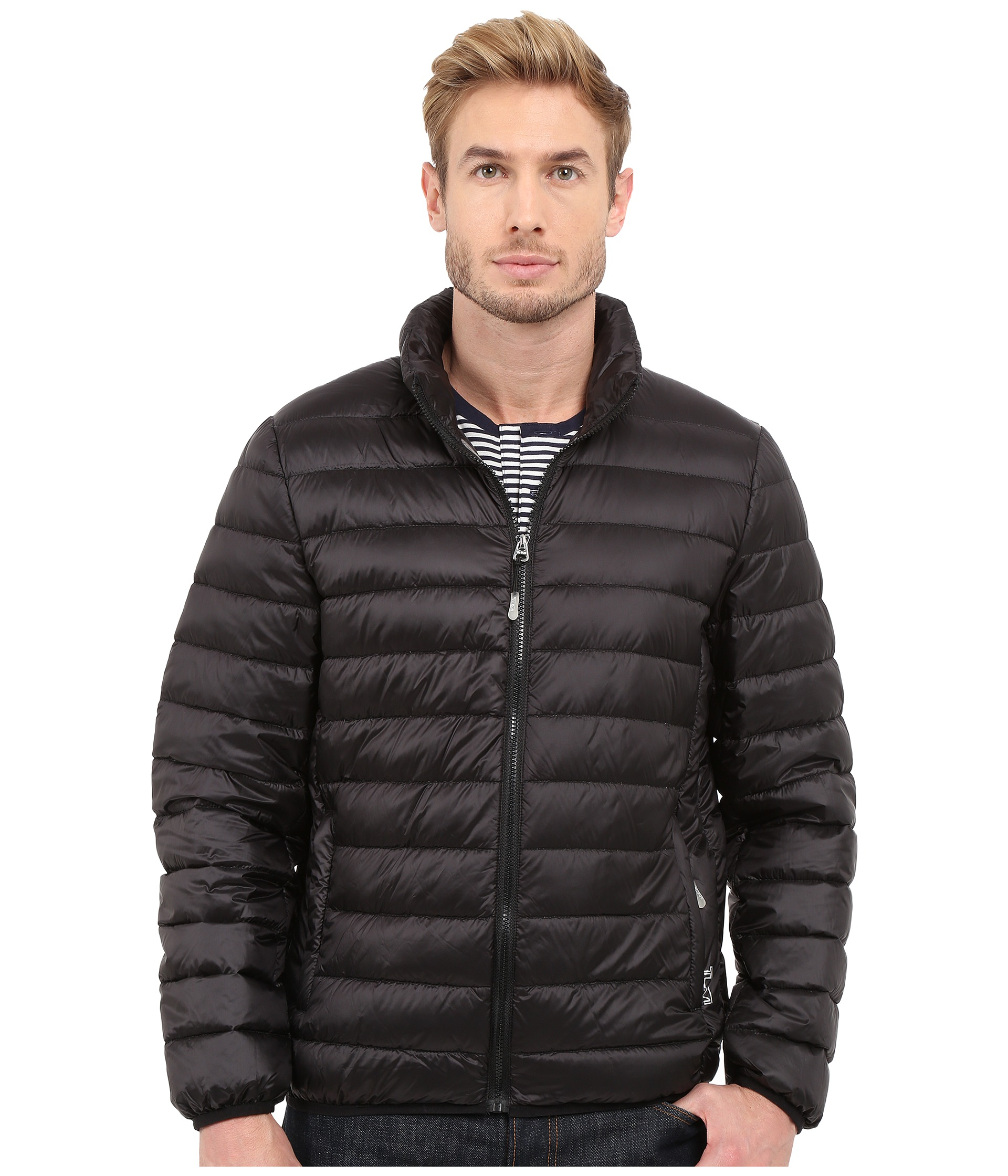 Tumi Patrol Packable Travel Puffer Jacket At Zappos Com
