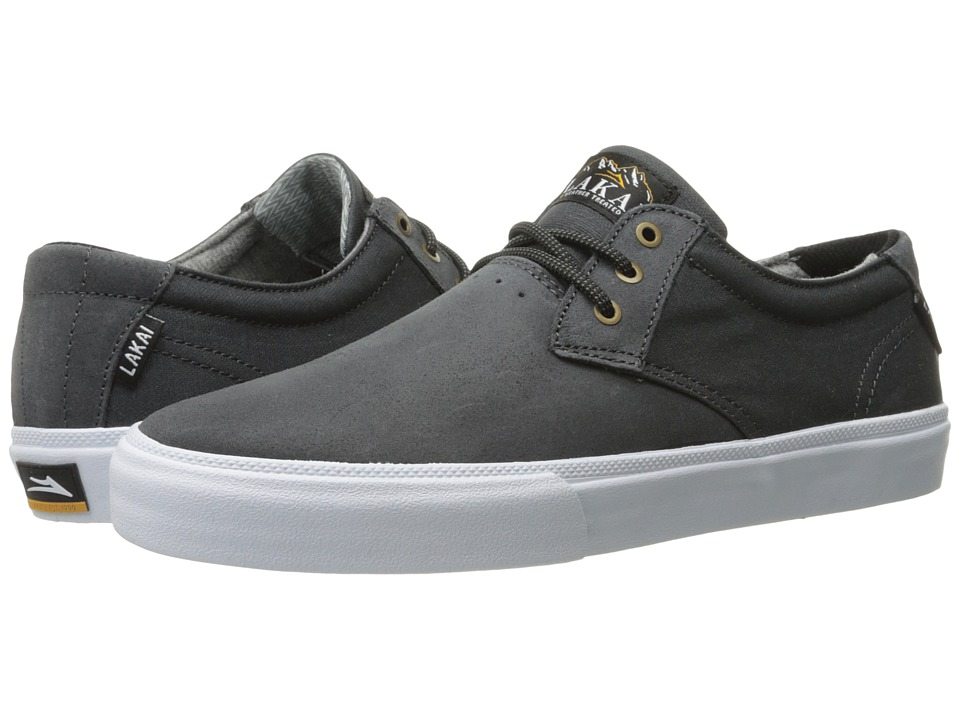 Lakai MJ Weather Treated (Charcoal Oiled Suede) Men