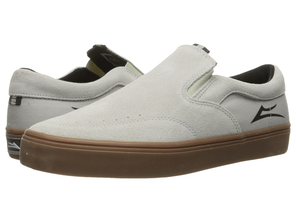 Lakai - Owen (White/Gum Suede) Men