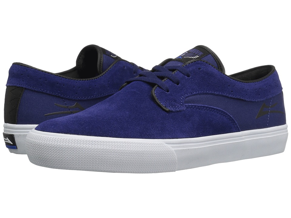 Lakai - Riley Hawk (Indigo Suede) Men