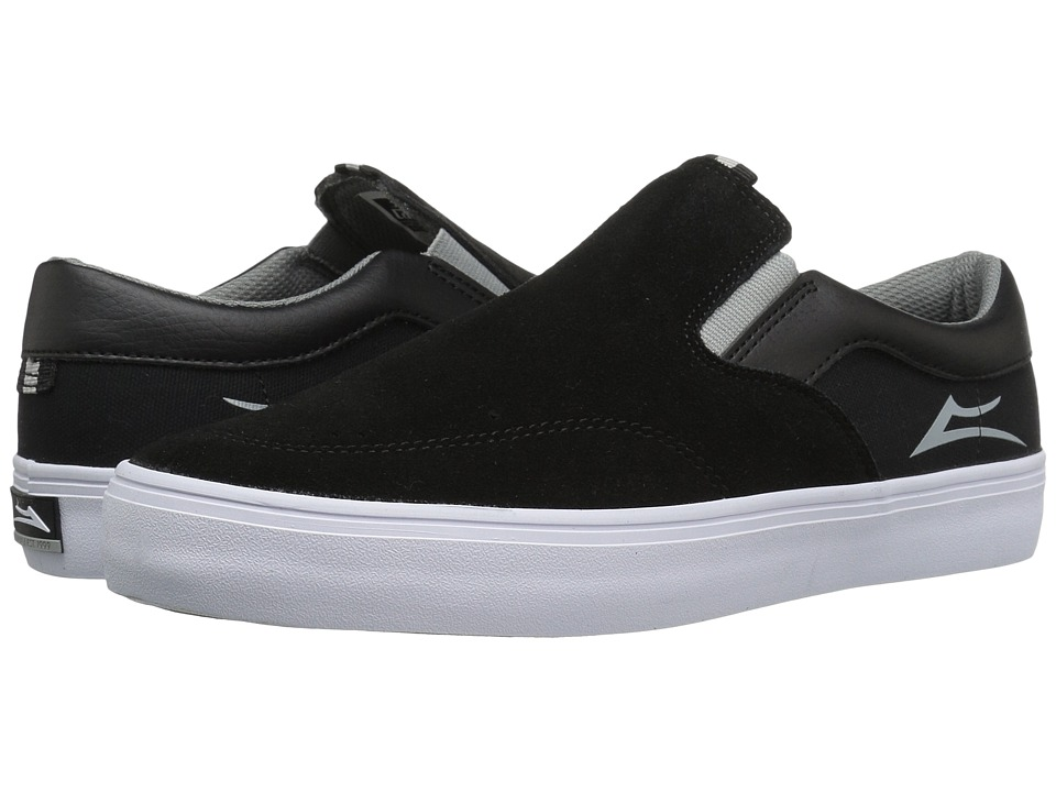 Lakai - Owen (Black/Grey Suede) Men