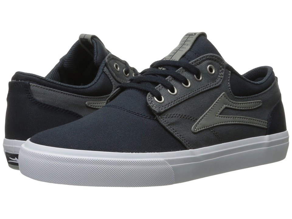 Lakai - Griffin (Navy/Grey Canvas) Men