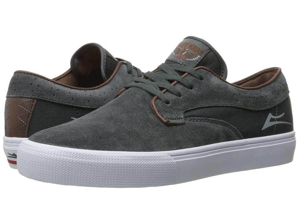 Lakai - Riley Hawk (Gargoyle Suede) Men