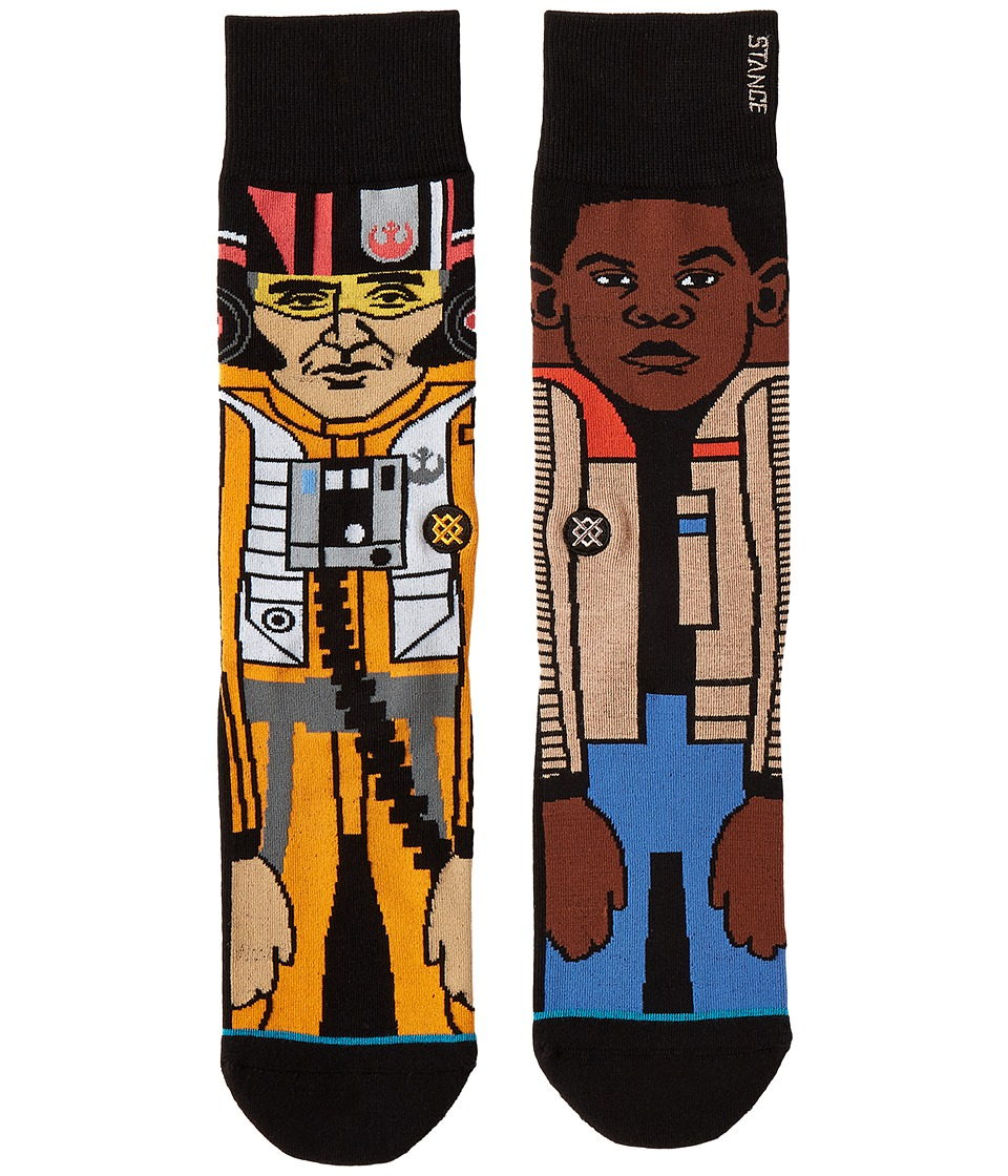 Stance - The Resistance 2 (Orange) Mens Crew Cut Socks Shoes