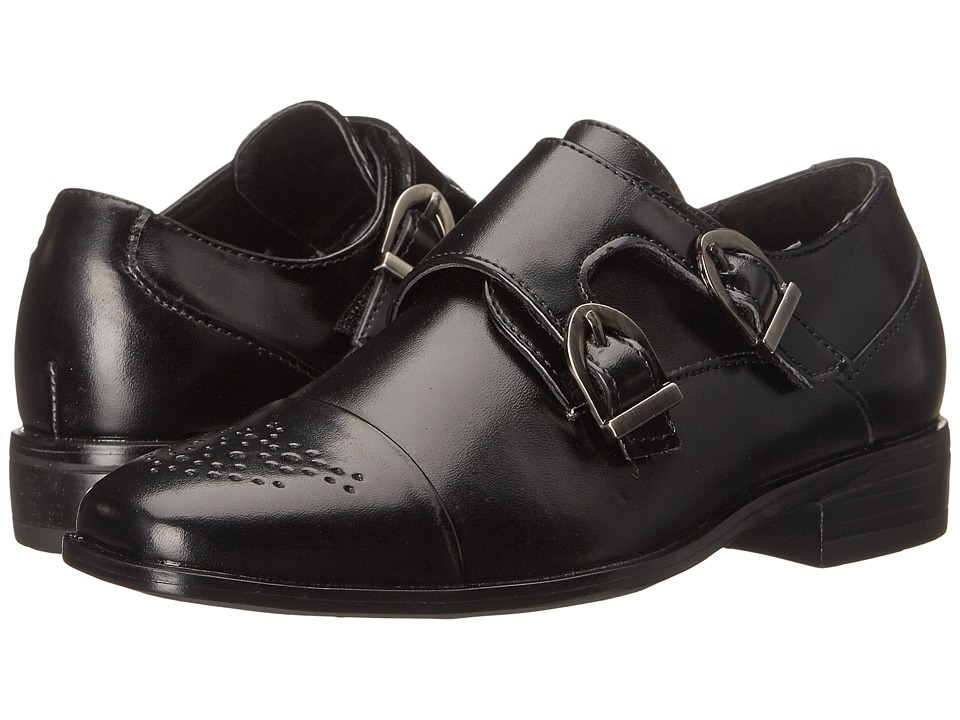 Stacy Adams Kids Trevor (Little Kid/Big Kid) (Black) Boys Shoes