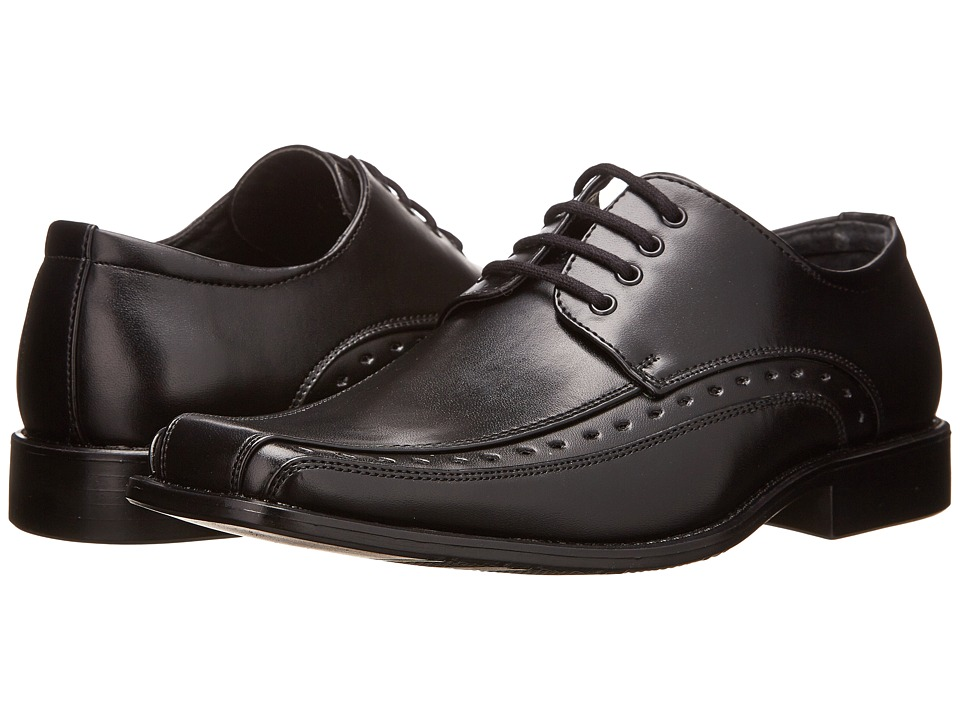 Stacy Adams Kids Demill (Little Kid/Big Kid) (Black) Boy's Shoes