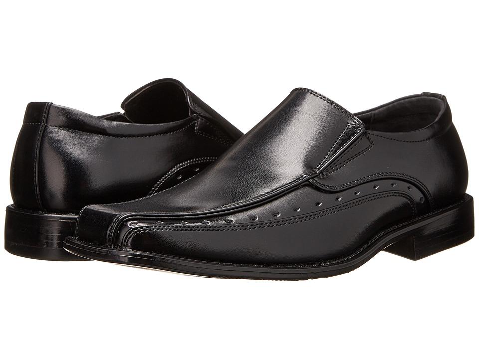 Stacy Adams Kids - Danton (Little Kid/Big Kid) (Black) Boys Shoes