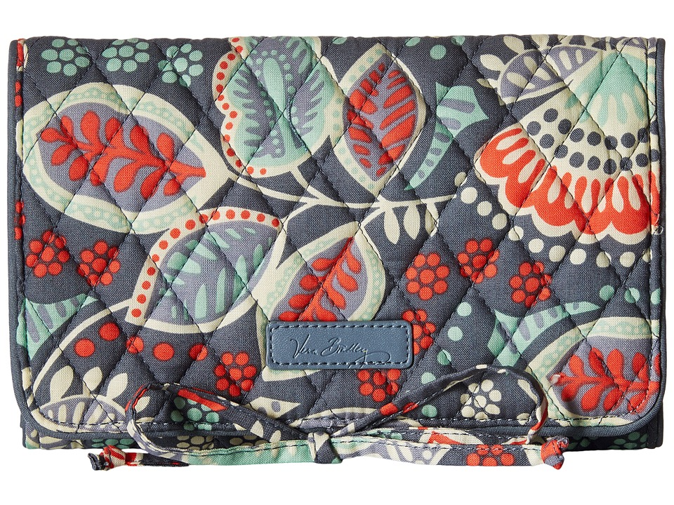 Vera Bradley - All Wrapped Up Jewelry Roll (Nomadic Floral) Wallet