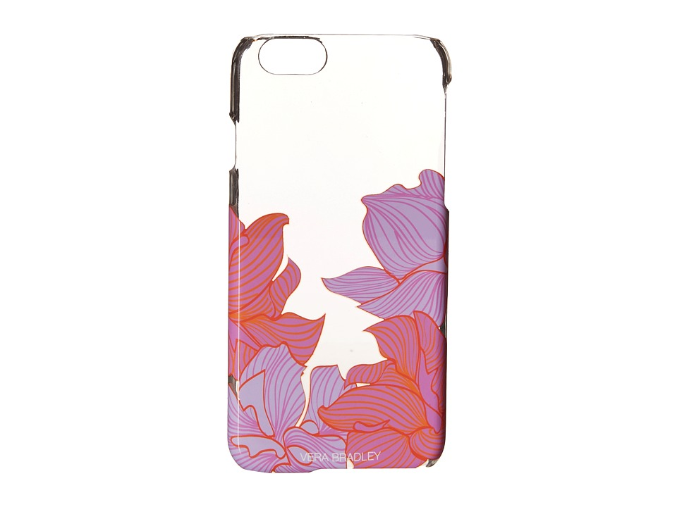 Vera Bradley - Clear Chic Case for iPhone 6 (Paradise Floral Lilac) Cell Phone Case