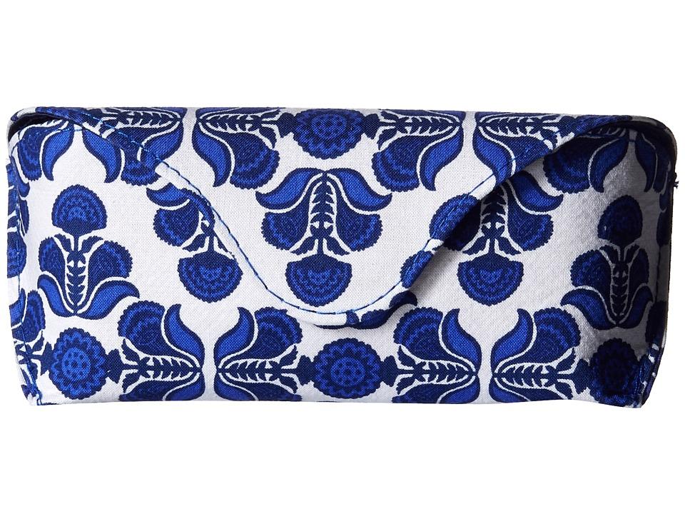 Vera Bradley - Eyeglass Case (Cobalt Tile) Cosmetic Case