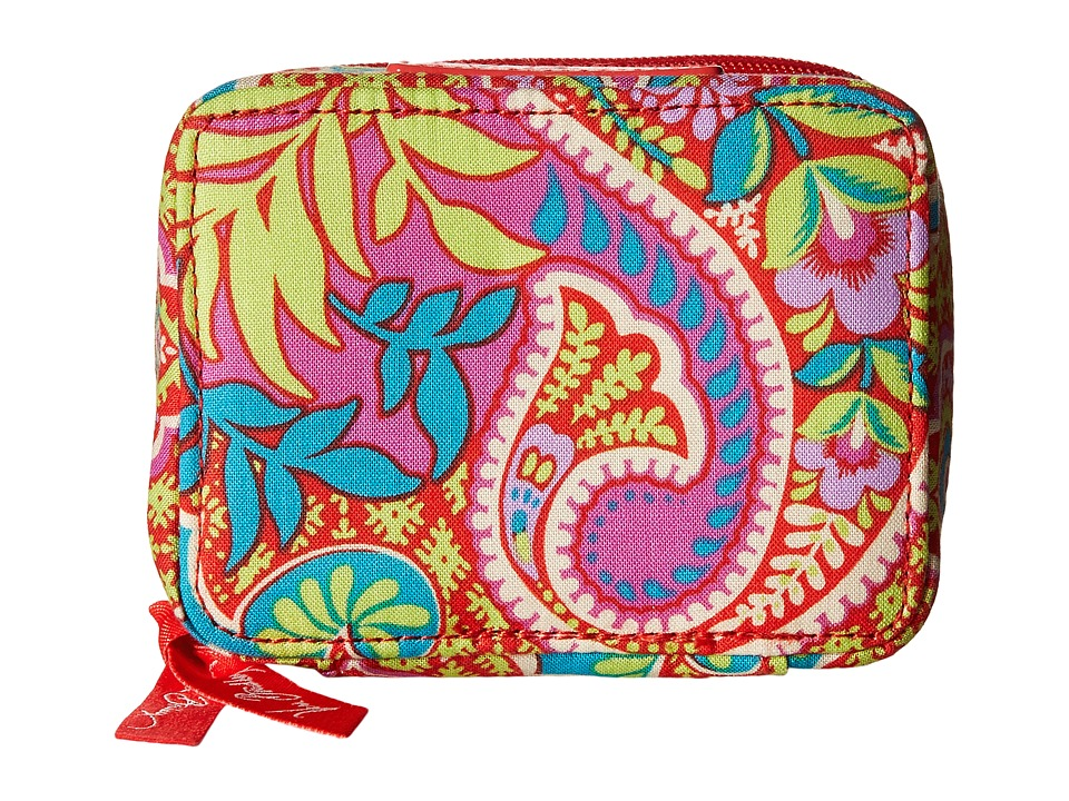 Vera Bradley Travel Pill Case Paisley in Paradise Travel Pouch