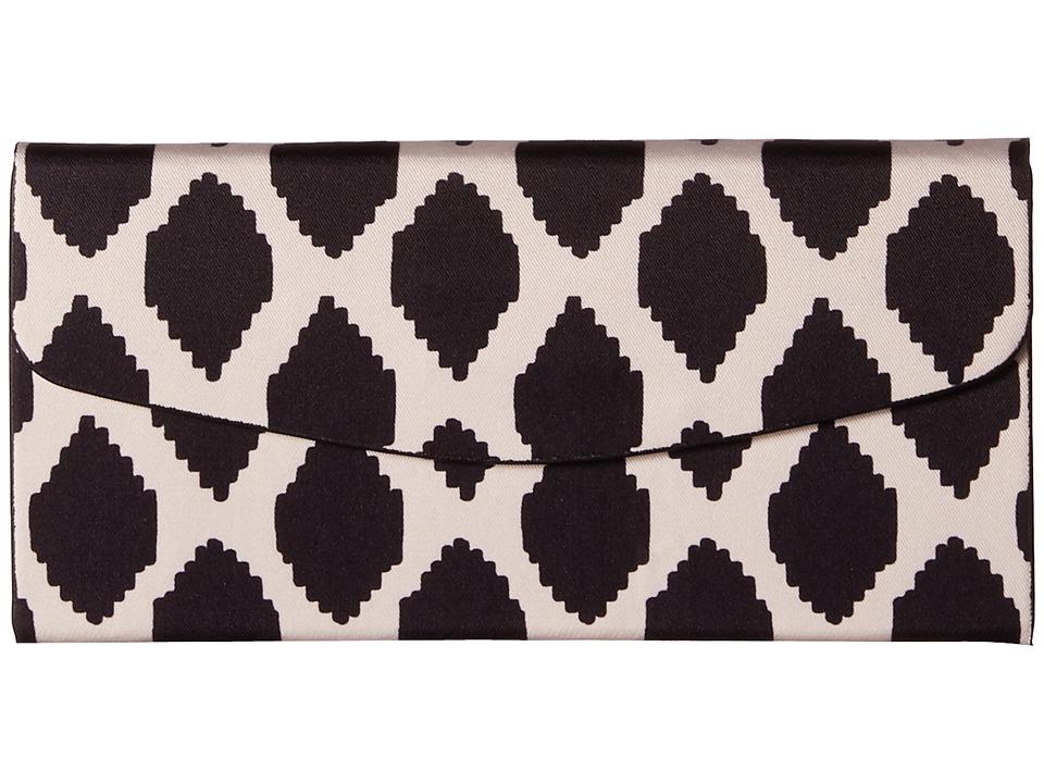 Vera Bradley Foldable Sunglass Case Ikat Spots/Black Wallet