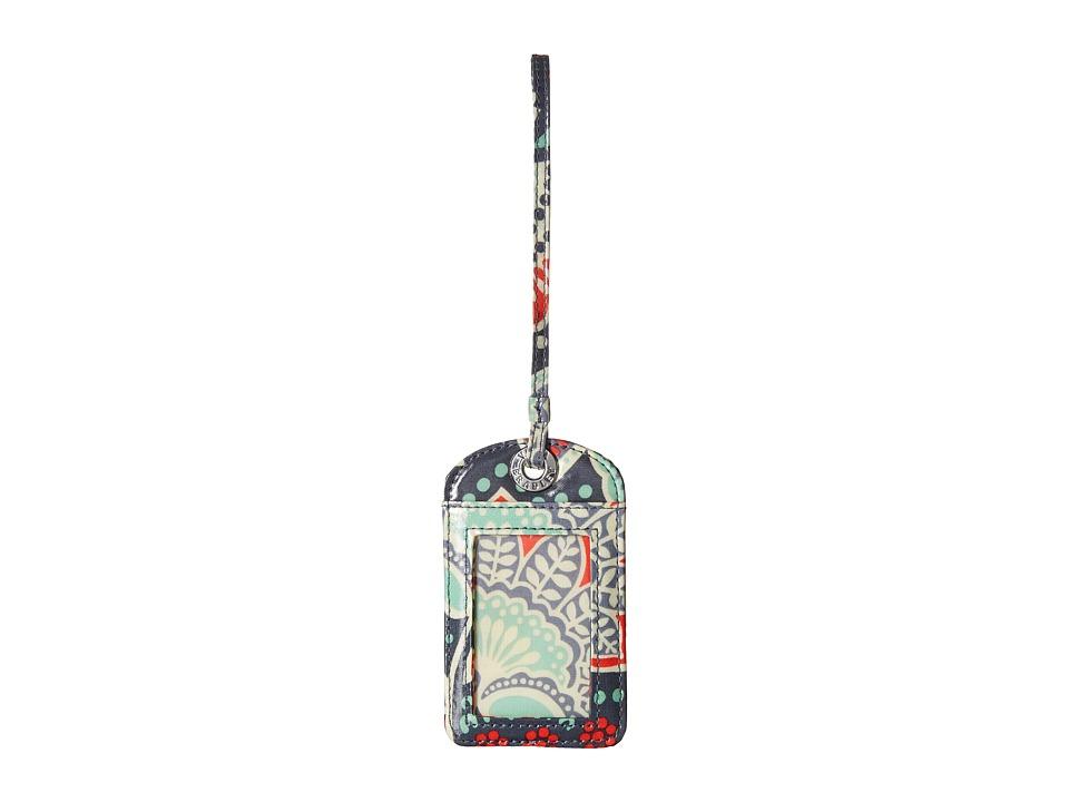 Vera Bradley Luggage Tag Nomadic Floral Wallet