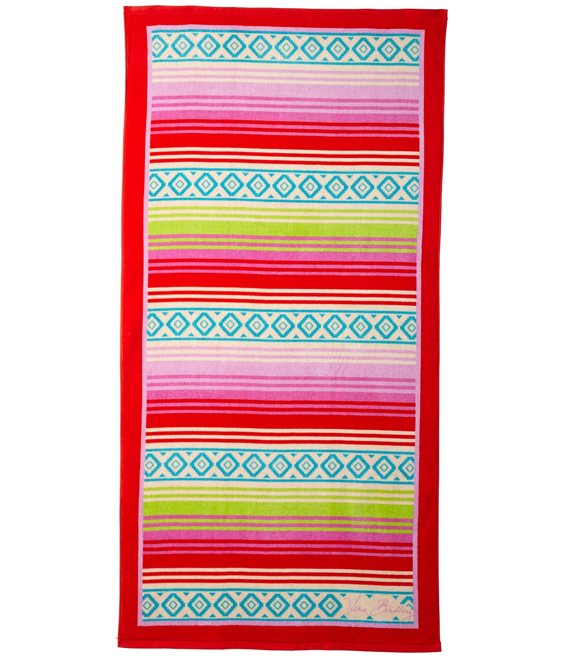 Vera Bradley Whale Beach Towel: Vera Bradley Beach Towel Priscilla Pink