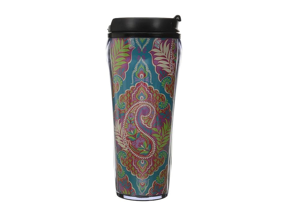 Vera Bradley Travel Mug Paisley in Paradise Individual Pieces Cookware