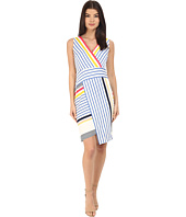 Donna Morgan - Sleeveless Scuba Bodycon with V-Neck