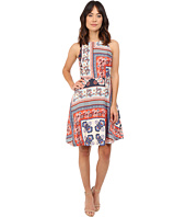 Donna Morgan - Sleeveless Twill Fit and Flare with Print