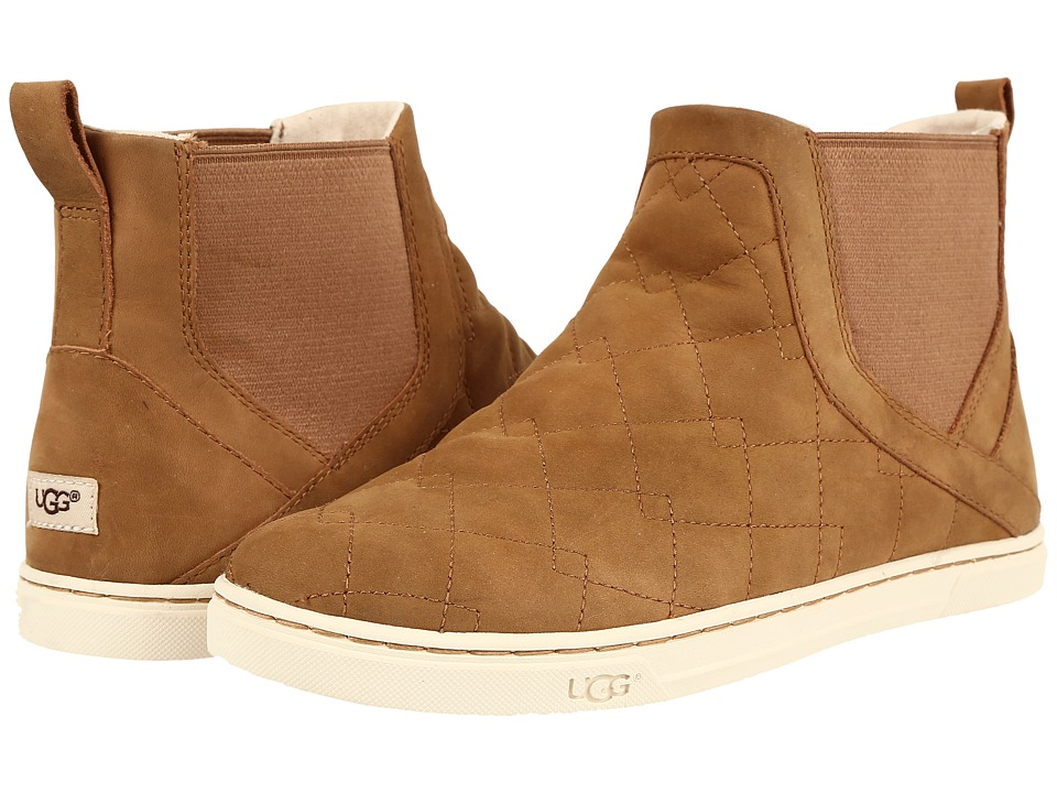 UGG - Hollyn Deco Quilt (Chestnut) Women