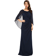 Badgley Mischka - Cape Gown