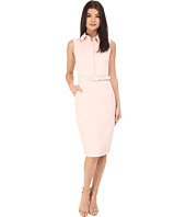 Badgley Mischka - Sheath Shirt Dress with Belt