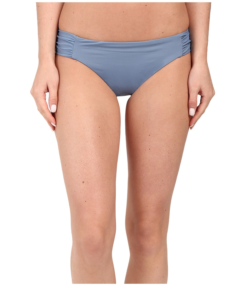 BECCA by Rebecca Virtue Color Code Tab American Bottom Steel Womens Swimwear
