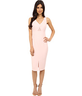 Donna Morgan - Sleeveless Crepe Bodycon Midi Dress with Cut Out