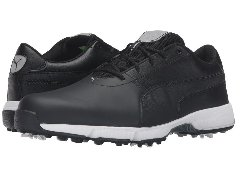 PUMA Golf Ignite Drive (Black/White) Men