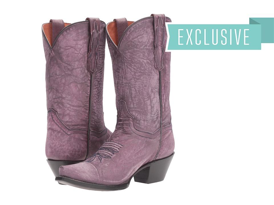Dan Post Tanzi (Purple) Cowboy Boots