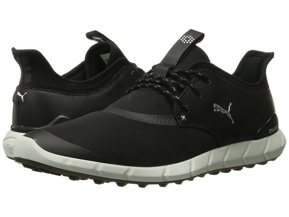 Puma Golf - Ignite Spikeless Sport (Black/White) Men's Go...