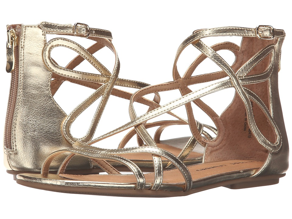 Chinese Laundry Penny Sandal (Gold Dazzle Metallic) Sandals