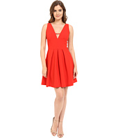 Adelyn Rae - V Front Fit & Flare Dress