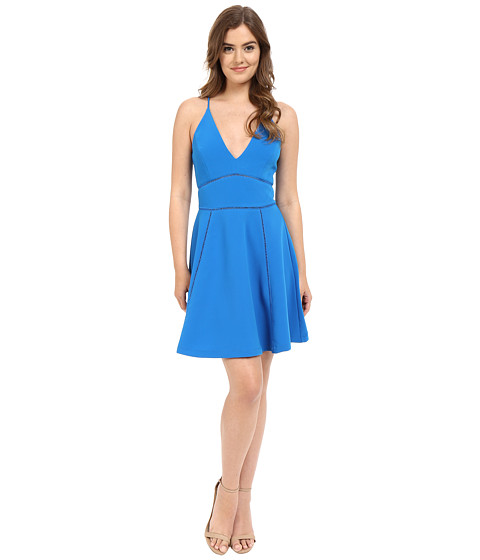 Adelyn Rae Tank Top V Front Dress w/ Waist Detail