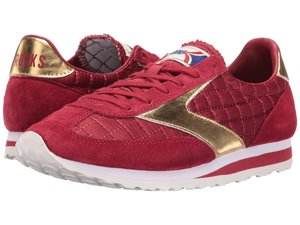 Brooks Heritage Vanguard (Red Dahlia/Gold) Women