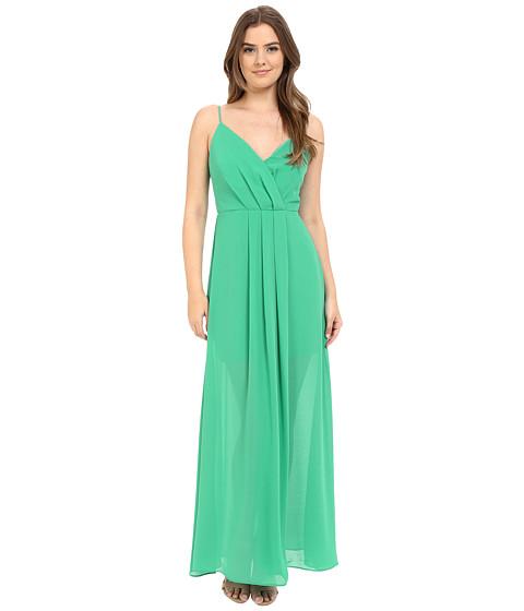 Adelyn Rae Spaghetti Strap V Front Maxi Dress