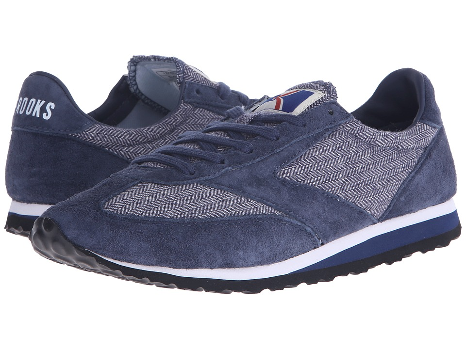 Brooks Heritage Vanguard Navy Tweed Womens Running Shoes