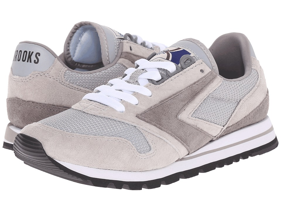 Brooks Heritage Chariot Athletic Grey/White Womens Running Shoes