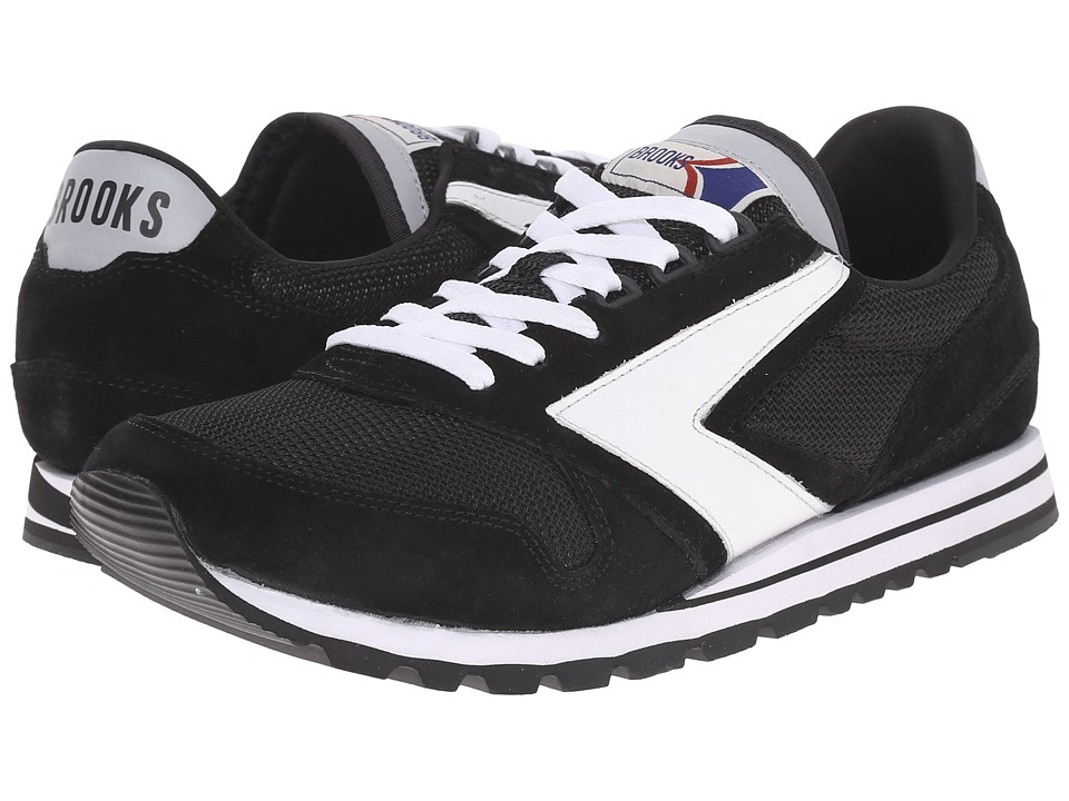 Brooks Heritage Chariot Jet Black/White Mens Running Shoes