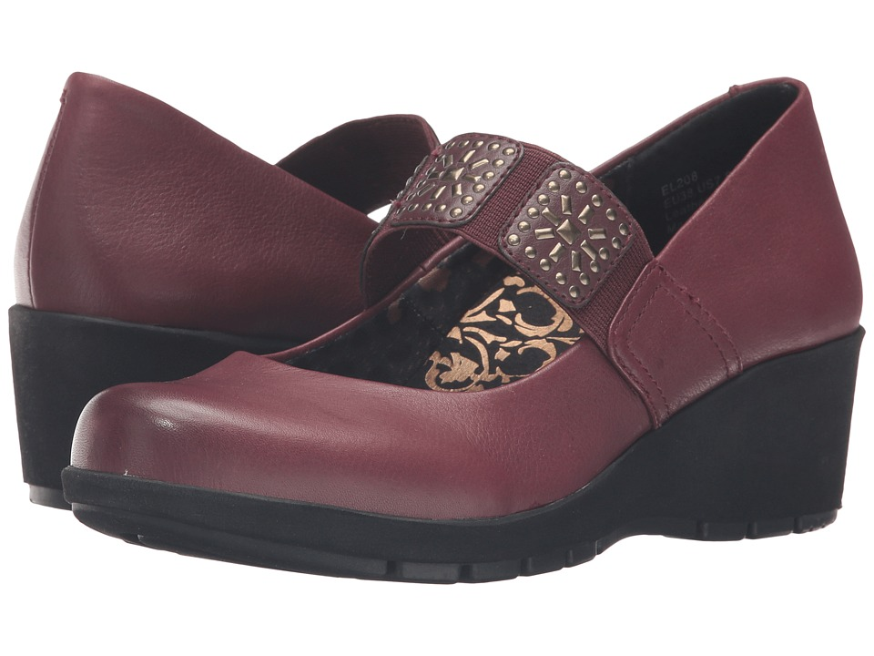 Aetrex Essence Elaine (Burgundy) Women